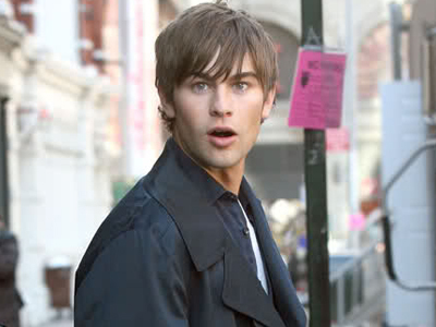 Chace looking shocked<3