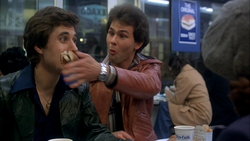 Paul Pape (in the brown leather coat) wearing a watch :)