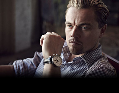 Leo wearing a Tag Heuer watch<3