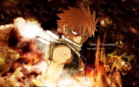 Natsu Dragneel from Fairy Tail.