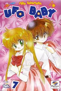 "The 7th volume of ""UFO BABY"" ....I was so little! *w*"