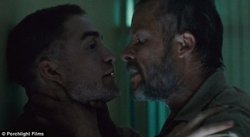 my beautiful babe and Guy Pearce in The Rover<3