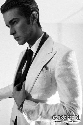 Chace looking very styla in b&w<3