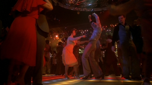 John dancing with Donna Pescow in Saturday Night Fever :)