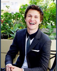Ansel with a sweet smile<3