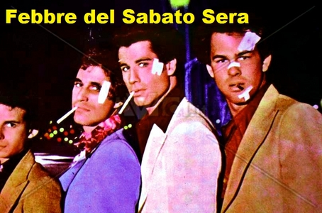 Saturday Night Fever in Italian :)