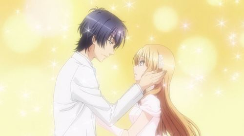 """Izumi Sena from Love Stage. Too bad the """"groom"""" in this commercial doesn't realize that the bride is a guy."""