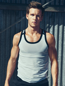Ryan Kwanten in a tank top<3