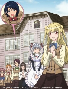 Maria Holic! Always my first choice when someone asks for a comedy anime. Also try: Is This A Zombie? Air Gear (WARNING! It's really freaking stupid. Funny, but stupid.) Welcome to the NHK! (Though that's zaidi dark comedy.)