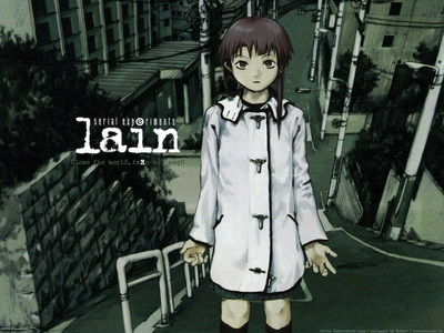 SERIAL EXPERIMENTS LAIN. Sometimes I wonder if I'm the only 粉丝 of this 日本动漫 who obsesses over it like . . . I dunno . . . Like some people obsess over Naruto. 你 know, with that special connection to the characters, being brought to tears when it ends, beating down anyone who hates it, and 写作 a freaking novel to prove your point etc. I've literally spent hours searching the internet for fanart, and any information I can possibly find about SEL. I wish every 日本动漫 I've seen gave me this kind of beautiful, psychological thrill, 或者 had such amazingly developed characters. I don't just obsess over Lain herself like that, I obsess over THE WHOLE THING. I. LOVE. THIS. ANIME.