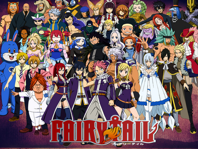 That would be Fairy Tail.