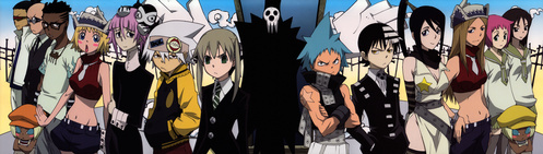 How 'bout almost all characters from soul eater? They use their weapon almost always, but still there are times they fight alone........