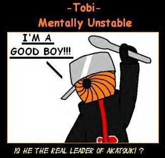 tobi from Naruto the good boy version