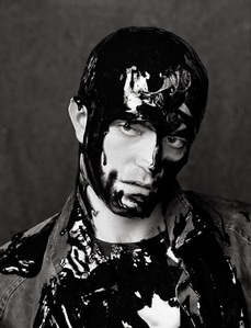 even with paint all over him,he's still the most beautiful man in my eyes<3