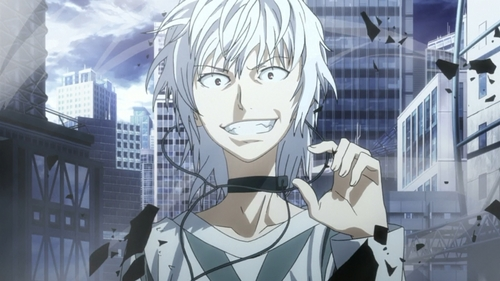 Accelerator from To aru majutsu no index ~Sometimes he'll kill tu with a gun, sometimes he'll just rip tu apart with a touch of a hand XD
