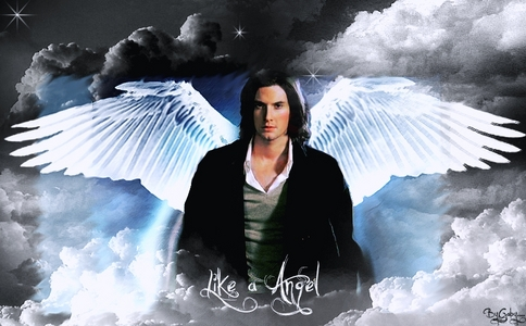 Ben is an angel...and a handsome one at that<3