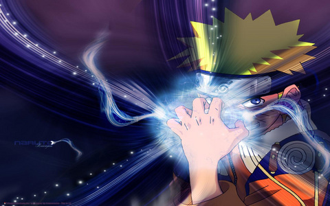 Naruto. Always training and always becoming stronger.