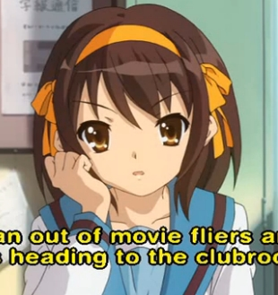 Alrighty!! Here's Haruhi from The Melancholy of Haruhi Suzumiya in her school uniform!