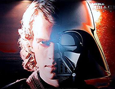 Hayden as Anakin/Darth Vader<3