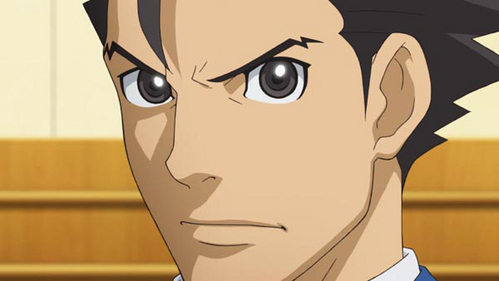 Phoenix Wright (Call it cheating, I don't care. Dual Destinies used animê cutscenes, so I am calling him an animê character