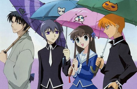 fruits basket but the end will make wewe cry but other than that its funny
