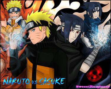 Naruto vs Sasuke. I usually take Naruto's side. Sasuke is willing to go over dead bodies to achieve his goals, Naruto isn't like that.