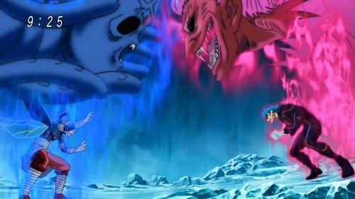 Tommyrod vs. Toriko in Ice Hell (Toriko)