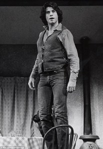 John standing on a chair :)