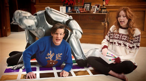 Matt,Karen and Cyberman!