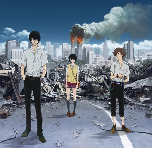 Zankyou no Terror/Terror in Resonance has been compared to Death Note several times, I've even seen people say they like it better. I certainly don't, but hey, might as well give it a shot.