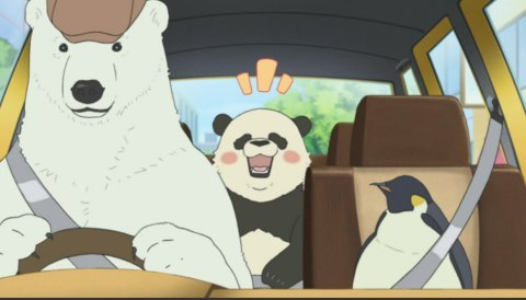Polar kubeba Cafe is the funniest adult onyesha that pretends to be a kid's show.