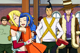 Lucy Heartfillia and Levy McGarden from Fairy Tail