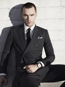 Nicholas wearing a tie<3