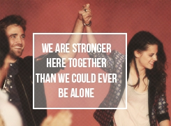 I absolutely agree...they are much stonger together than alone<3
