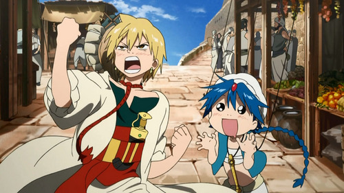 Aladin and Alibaba from Magi.