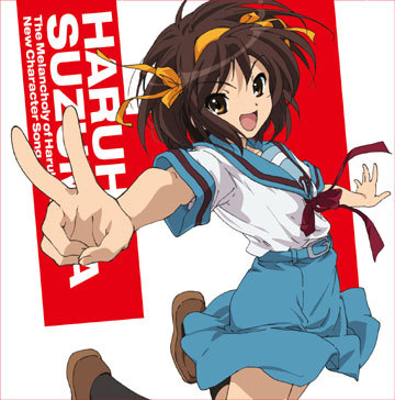 guess i'll give this سوال a flare with haruhi :P. haruhi suzumiya from the melancholy of haruhi suzumiya. (actually i didn't need to say that. i mean who doesn't know haruhi -_-)