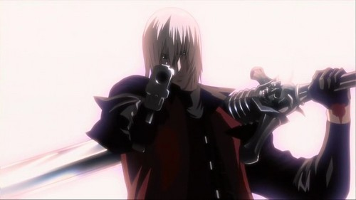 Why not both? XD ~Dante from the Devil may cry anime! X3