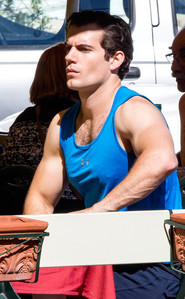 Henry in a tank top<3