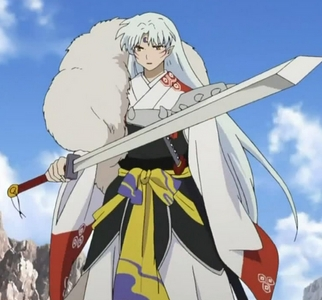 Alrighty! Here's Sesshomaru from InuYasha!