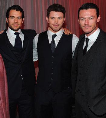 3 immortal hotties in black<3