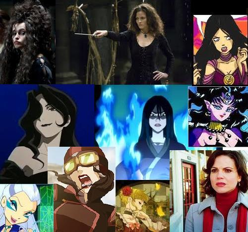 so many characters. Though Ming Hua and Sawyer have not been added yet. There's Bellatrix, Isabella, Nerissa, Lust, Azula, Nehelenia, Icy, Asami, Beatrice, and Regina.