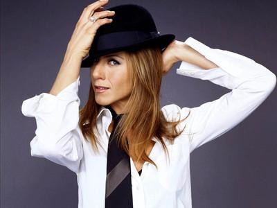 Jen wearing a hat :)