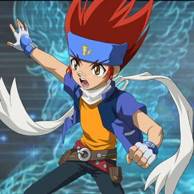 How about Ginga from beyblade.