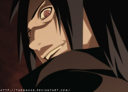 Madara Uchiha (Naruto Shippuden) Madara was a protagonist who turned into an antagonist.bcz he was manipulated by..................(Spoilers)..................!!!!!!!!!!!!!!!!!