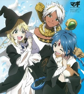 Aladdin, Titus, and Sphintus from Magi.