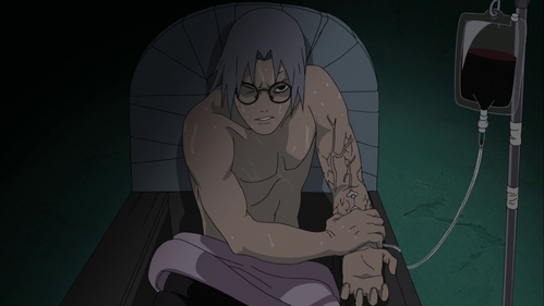 Kabuto from Naruto.
