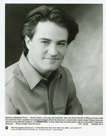 Matthew Perry in B&W :)