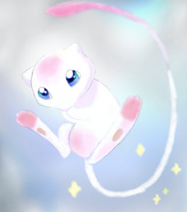 I think Mew is a girl, She's very girly & cute. plus in the original games in Cinnibar Mansion it was berkata that Mew GAVE BIRTH to Mewtwo. So yeah, Mew is a GIRL.