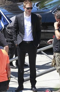 my gorgeous babe on set of Maps to the Stars,which will be coming out soon<3