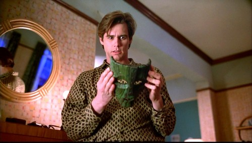 Jim Carrey with a mask :)